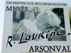 Musée Loukine à Arsonval